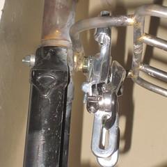 Demountable rack with caliper brake installed (3) (Tysasi) Tags: demountable rack rando 10x75 caliper brake surly crosscheck fork lukeheller orcrack orcracks customrack customracks