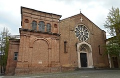 San Domenico Church (1228-1238) and Ghisilardi chapel (1530-1535 by Baldassarre Peruzzi) at Bologna (* Karl *) Tags: italy church bologna baldassarreperuzzi ghisilardi