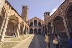 Sant Ambroeus (Echoes89) Tags: italy milan church italia basilica milano chiesa lombardia santambrogio