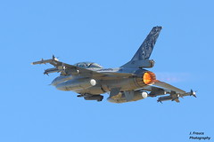 NTM 2016 - Tiger Meet Zaragoza - F-16 Falcon (J. Frauca) Tags: canon aircraft tiger jet zaragoza hornet f18 avin meet militaryaviation 30d 2016 ntm tigermeet tigersquadron natotigermeet avincombate