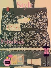 Organizador de carro (Artesanato by Renata) Tags: de artesanato carro feltro tecido organizador