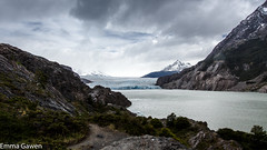 Trekking to Grey Glacier, Torres del Paine, Chile (EmmaJG) Tags: chile patagonia unesco torresdelpaine glaciergrey tdp 2015 greyglacier wtrek patagonia2015