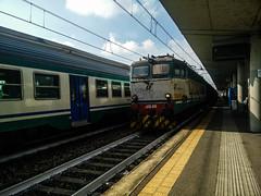 E655.245 MRS 68404 a Lingotto FS (simone.dibiase) Tags: e655 trenitalia cargo cargoitalia italia xmpr bologna san donato torino orbassano fascio arrivi 84 ottantaquattro minuti di ritardo binario 8 otto mrs 68404 245 lingotto fs ferrovie dello stato italiane