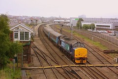 Semaphores at Great Yarmouth (Chris Baines) Tags: great norwich service yarmouth drs 37419