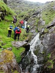 Following the cascades up the Eisc an Chuillinn - DSC06621 (JJC2008) Tags: eisc chuillinn reeks kerry bishopstown bhc gully