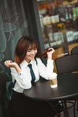 E21 (erik_bui_89) Tags: woman cute student nikon human beautifull emart