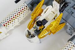 Gryphon E-150 -- Cockpit (Uspez) Tags: lego space stg starfighter