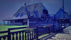 I live in my own little world. But its ok, they know me here. (kuburovic.natasa) Tags: house home starry pleasure visegrad littlehappiness