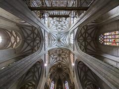 Catedral de Astorga (Gallo Quirico) Tags: architecture arquitectura interior catedral olympus dome zuiko e5 astorga gotico bvedas 714mm crucera