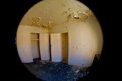 Expanse (detcypher urbex) Tags: abandoned peeling paint michigan empty room pontiac unused indianvillageapartments