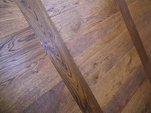 Roble rústico teñido diseño escalera Echelle