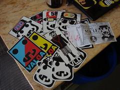 Respect Mr. VALDA (AU OSCE) Tags: italy streetart art sticker italia trade combo valda auosce