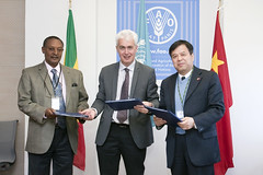 12023h9799 (FAO News) Tags: china italy rome europe ethiopia agreements signingceremony southsouthcooperationssc technicalcooperationprogrammetcp assistantdirectorgeneraladg