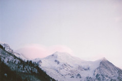 (Lewis Gregory) Tags: blue sunset italy snow france mountains film clouds 35mm canon europe skies ae1 lewis gregory courmayeur chamonix