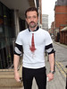 Emmett J. Scanlan at the Phantom FM studios to promote the movie 'Charlie Casanova' Dublin, Ireland