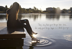 First quote try (wimpy_cup) Tags: sun white lake argentina canon hair photography lyrics buenosaires quote song reflect converse million teenager oneinamillion 60d hannahmontana wimpycup theysaythatgoodthingstaketimebutreallygreatthinghappeninablinkofaneye