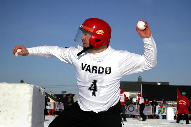 Harde baller i Vardø