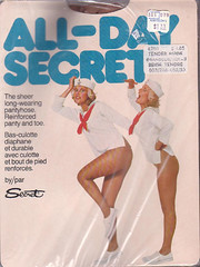 Covers Of Pantyhose Packages 100