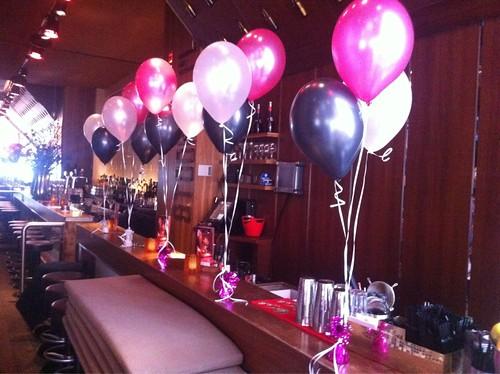 Tafeldecoratie 3ballonnen Stockholm Oude Haven Rotterdam