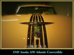 1949 Austin A90 Atlantic Convertible (PictureJohn64) Tags: auto heritage classic car museum austin automobile driving traffic famous den transport convertible atlantic hague collection commercial transportation historical haag collectie 1949 fahrzeug oto a90 historisch verkeer vervoer klassiek  samochd beroemd gravenhage otomobil louwman automobiel  automoviel klassiesch