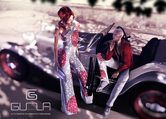 Gizza AD . May (Graphic Dix SL Photo Studio) Tags: life car set photo pom photographer graphic ad queen sl v3 second elan giz dix jumpsuit poms watanabe auster 2300 gizza seorn
