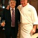 Host, Michael Stewart with Chef Charles Clark of Ibiza