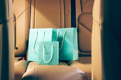 !     (- M7D . S h R a T y) Tags: 3 car turquoise inside bags tiffany bluegreen wordsbyme 3bags  allrightsreserved