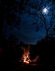 Great Night (Michael Kline) Tags: campfire va april salem exposureroanoke