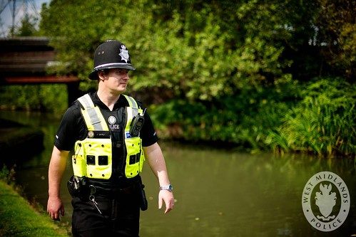 bridge canal pc birmingham great police bikes mini canals safety cop moto dudley coventry perry westmidlands officer coppers towpath solihull barr wmp walsall motorcross wolverhampton officers patrolling policing pcso patrols sandwell westmidlandspolice