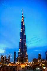 (~   ~) Tags: night downtown dubai khalifa address burj