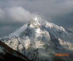Anboto PORTADA (azulultramar) Tags: winter mountain snow ice nieve invierno montaña hielo euskadi basquecountry paísvasco mendiak anboto imanolmarrodan