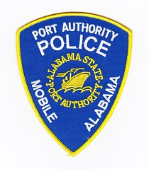 AL - Alabama State Port Authority (Inventorchris) Tags: old cars ford public car port justice office illinois al paint peace cops state authority alabama police pd safety il company criminal cop vehicle service crown law motor enforcement patch squad emergency job protection patches department officer patrol services waubonsee interceptor officers enforcment