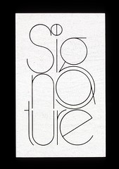 Signature logo (Herb Lubalin Study Center) Tags: logo 1970 rejected lubalin dinersclub herblubalin