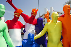 Maspalomas Gay Pride 2012 (Alex Bramwell) Tags: gay color grancanaria fun happy costume rainbow parade disguise colourful gaypride 2012 maspalomas