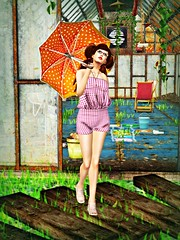 Looks like rain. (Bailsey2012) Tags: truth lisp bp deco whatnext mothergoose purplemoon concreteflowers cafeami finrelivethefifties