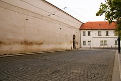 wall of Praha (eiku suyama) Tags: tower castle czech prague praha     trum schlos suyama eiku