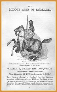 William the Conqueror - History - page  1