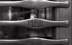 Push Processing (David Comley) Tags: bw station railway epson zenit em ilford trix400 epsonv700 ilfosol3