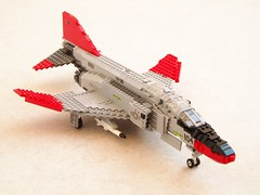 QF-4S Phantom II updated (1) (Mad physicist) Tags: lego phantom usnavy f4 bloodhounds vx30