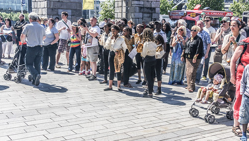 Africa Day At George's Dock In Dublin Docklands