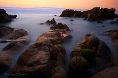 Over the Time (Emmanuel DEPARIS) Tags: beach rock pose nikon long exposure 110 nd emmanuel longue deparis