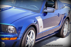 427 Mustang Blue Roush Prepared (Photographybyjw) Tags: show blue car found very north sharp 427 carolina mustang prepared roush screamer photographybyjw