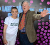 Sinead O'Connor, Gay Byrne The 50th Anniversary of 'The Late Late Show' at RTE Studios Dublin, Ireland