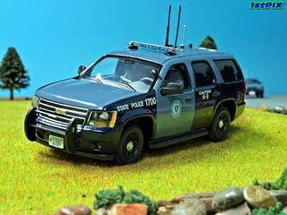 Massachusetts State Police Chevy Tahoe