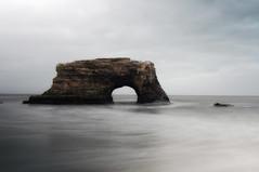Natural Bridges State Park (David M Hogan) Tags: ocean california longexposure sea