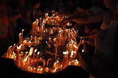 candles at etchmiadzin (alllegra) Tags: church fire candles armenia birthright avc etchmiadzin hayastan alllegra momer birthrightarmenia depihayk armenianvolunteercorps yegeghetsi