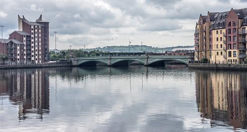 The Albert Bridge - Belfast