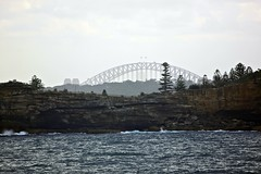 Sydney Harbour Bridge from Tasman Sea (oxfordblues84) Tags: cruise au australia royalcaribbean tasmansea sydneyharbourbridge radianceoftheseas thecoathanger royalcaribbeaninternational