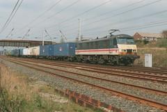 "Intercity Mainline Class 90/1, 90131 (37190 ""Dalzell"") Tags: br britishrail skoda wigan mainline class90 springsbranch 90131 class901 taylorslanebridge"
