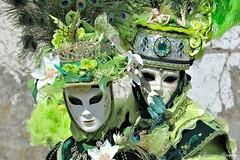 Barbara et Morgane (joménager) Tags: annecy costume nikon passion carnaval 70200 f28 d3 afs masque hautesavoie rhônealpes vénitien